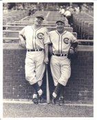 Charlie Root & Gabby Hartnett Chicago Cubs LIMITED STOCK 8X10 Photo
