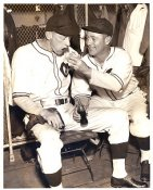 Charlie Root & Len Warneke Chicago Cubs LIMITED STOCK 8X10 Photo
