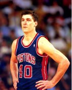 Bill Laimbeer Detriot Pistons LIMITED STOCK 8X10 Photo