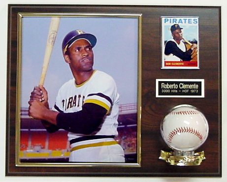 Photo Card and Baseball Plaque Display (Ball & Photo Not Included)-  2 lines FREE ENGRAVING  (60 Letters FREE)