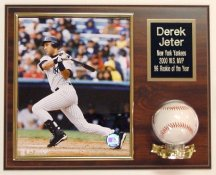 Photo and Baseball Plaque Display (Ball & Photo Not Included)-  5 lines FREE ENGRAVING  (120 Letters FREE)