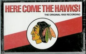 Chicago 1968 Here Come The Hawks Recording This cassette tape came out in 1988. Still has the original shrinkwrap - BlackHawks