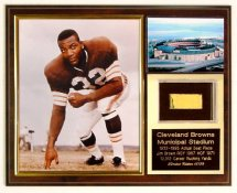 Jim Brown Municipal Stadium Seat Plaque Limited Edition of 50