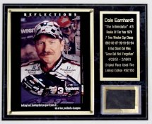 Dale Earnhardt Tire Plaque  Limited Edition of 150