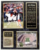 John Elway Mile High Turf Plaque