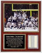 Adam Vinatieri Foxboro Stadium Seat Plaque Limited Edition of 72