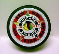 Blackhawks 1991 Puck All-Star Game Hockey Puck