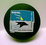 "Sharks 1995 Puck All-Star Game Hockey Puck  ""THE GAME THAT NEVER WAS"" Cancelled Due To Strike"