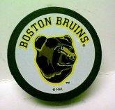 Bruins Bear Collectors Puck 1990's