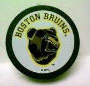 Bruins Bear Collectors Puck 1990's