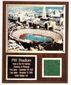 Pitt Stadium Turf Plaque