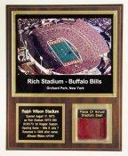 Ralph Wilson Stadium Plaque Limited Edition of 100
