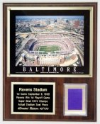 Ravens Stadium Seat Plaque Limited Edition of 100