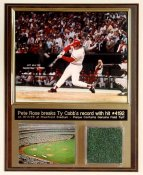 Pete Rose Riverfront Turf Plaque
