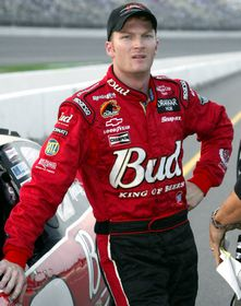 Dale Earnhardt Jr. Standing Photo 8X10