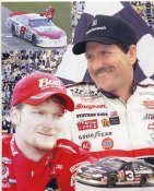 Dale Earnhardt Jr. & Sr Daytona 8x10 Photo