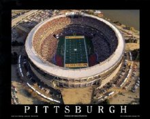 A1 Three Rivers Stadium Aerial Pittsburgh Steelers 8x10 Photo