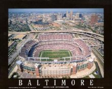 A1 Ravens Stadium Aerial Baltimore Ravens 8x10 Photo
