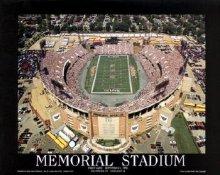 A1 Memorial Stadium Aerial 1st Ravens Game 8x10 Photo