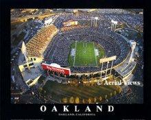 A1 Network Associates Colliseum Aerial Oakland Raiders 8x10