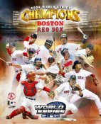 Boston 2004 World Series Composite 8x10 Photo LIMITED -