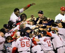 Boston 2004 Pile On Celebrate Game 4 World Series Champs LIMITED -