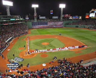 N2 Fenway Park Game 1 Ceremonies 2004 World Series