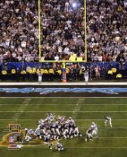 Vinatieri Final Field Goal to win Super Bowl 38 LIMITED STOCK 8x10 Photo