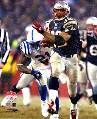 Antowain Smith LIMITED STOCK Patriots 2003 AFC Champs 8X10 Photo