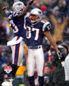 David Givens Celebrates 03 AFC Champs