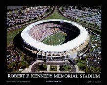 A1 Robert F Kennedy Memorial Stadium Aerial 8X10