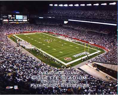 N2 Gillette Stadium LIMITED STOCK New England Patriots 8X10 Photo