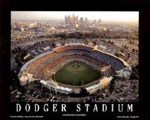 A1 Dodger Stadium Aerial LA 8X10