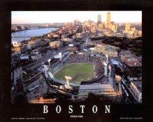 A1 Fenway Park Aerial Boston Red Sox 8X10