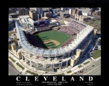 A1 Jacobs Field Aerial Cleveland Indians 8X10