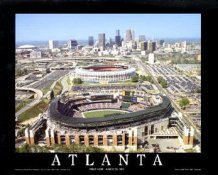 A1 Turner Field Aerial Atlanta Braves 8X10