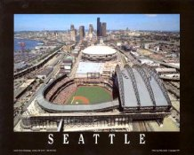 A1 Safeco Field Aerial Seattle Mariners Day Game 8X10