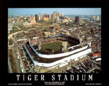 A1 Tiger Stadium Aerial Detriot Tigers Final Game 8X10 LIMITED STOCK