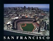 A1 Pac Bell Park Aerial San Francisco Giants 8X10