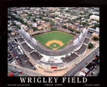 A1 Wrigley Field Aerial Chicago Cubs Day Game 8X10