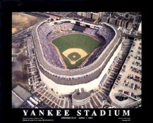 A1 Yankee Stadium Aerial NY Yankees Day Game 1992 8X10