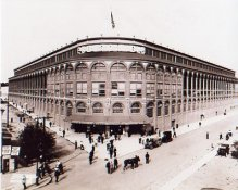 E3 Ebbets Field Exterior Brooklyn Dodgers SATIN 8X10 Photo