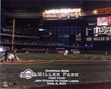 N2 Miller Park Milwaukee Brewers 8X10