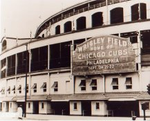 E3 Wrigley Field Black & White 8X10