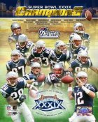 Patriots 2005 Super Bowl Team Comp. 8x10 Photo