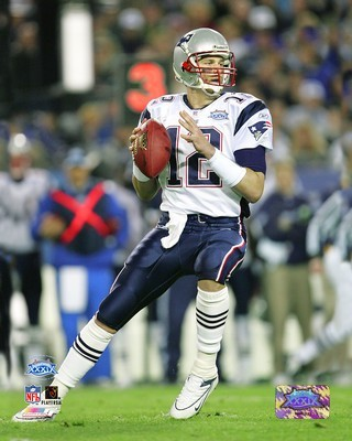 Tom Brady Patriots SB39 SATIN 8x10 Photo