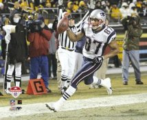 David Givens AFC Championship Game TD 8x10 Photo  LIMITED STOCK