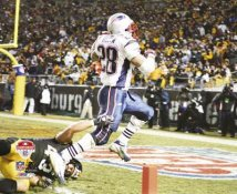 Corey Dillon AFC Champ game 8x10 Photo Patriots LIMITED STOCK