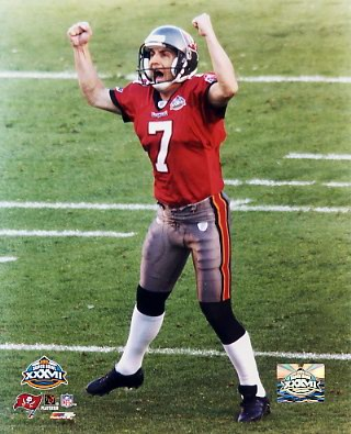 Martin Gramatica LIMITED STOCK Super Bowl 37 8x10 Photo