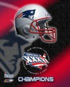 Patriots 2002 Champs Helmet SB36 8x10 Photo LIMITED STOCK
